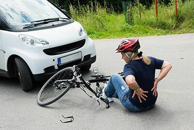 wypadek drogowy - odszkodowanie za wypadek rowerowy w UK