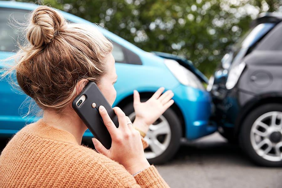 Miałem wypadek samochodowy w UK nie z mojej winy, co robić?